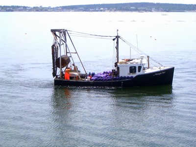 Moosabec Mussels fishing boat